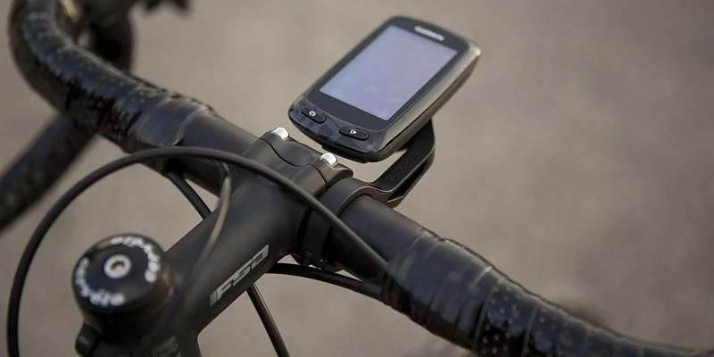 Garmin Edge 810 Bike GPS application