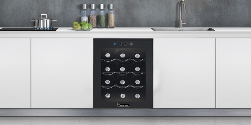 Review of Magic Chef MCWC12B Wine Cooler