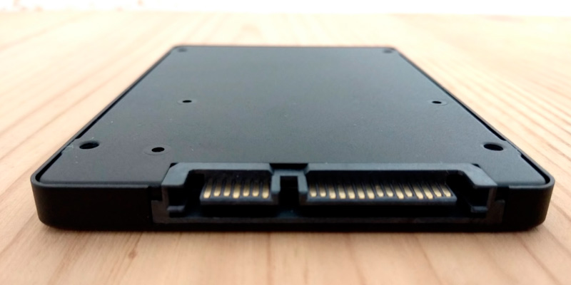 Silicon Power A55 2.5 Inch SATA III Internal SSD in the use