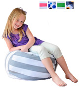 Creative QT NBA30GW Stuff 'n Sit - The Stuffable Storage Bean Bag