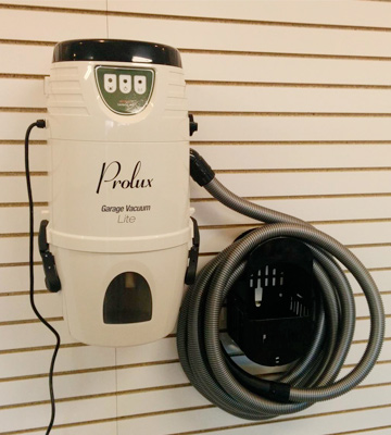 Review of Prolux Lite Professional Wall Mounted Garage Shop Vacuum Wet Dry Pick Up