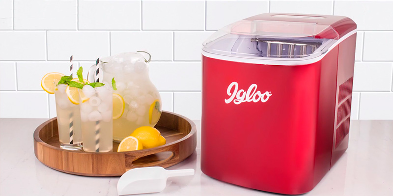 Review of iGloo ICEB26RR Portable Automatic Ice Cube Maker