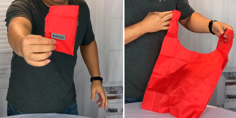 Review of BAGGU Cobalt Reusable Grocery Bags