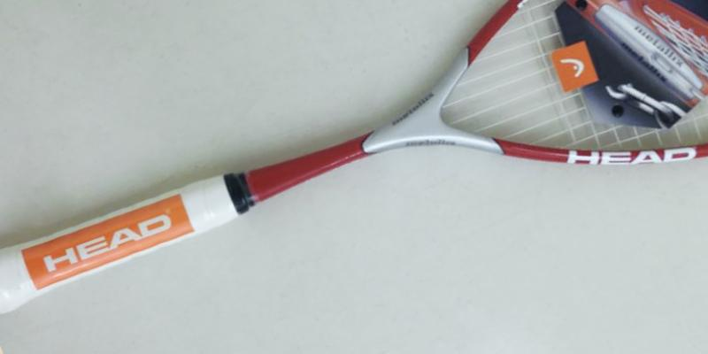 Detailed review of Head Metallix 130 Squash Racket