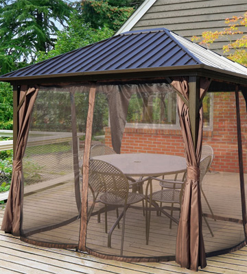 Review of Kozyard Caesar 10'x12' Hardtop Aluminum Gazebo