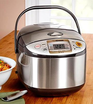 Review of Zojirushi NS-LAC05XT Micom Rice Cooker
