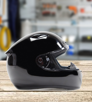 Review of Typhoon YOSN957BLKM Full Face Helmet