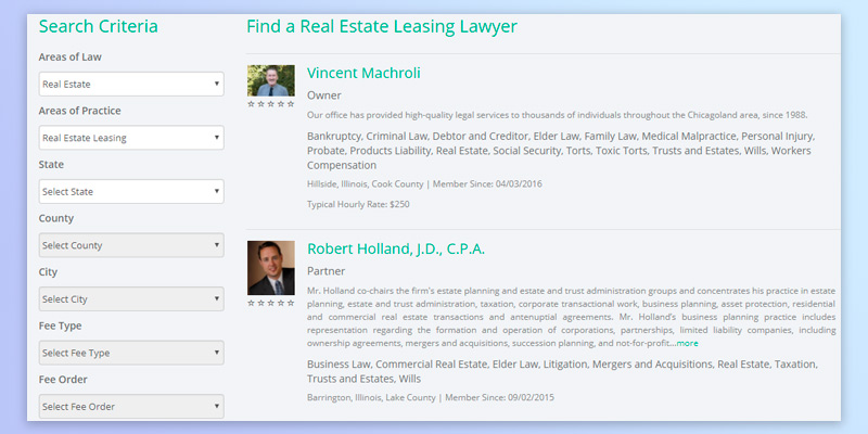 Review of Legal Services Link Real Estate Leasing Lawyer