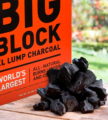 Review of KamadoJoe 20LB Hardwood Extra Large Lump Charcoal
