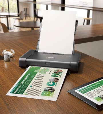 Review of Canon PIXMA iP110 Wireless Mobile Inkjet Printer