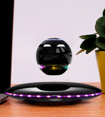 Review of Infinity Orb (WB-46-3) Magnetic Levitating Speaker (Bluetooth, Microphone and Touch Buttons)