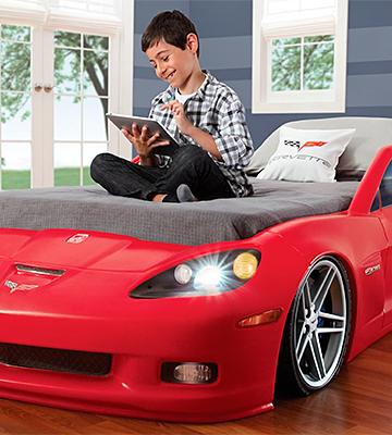 Review of Step2 Corvette Toddler Bed with Lights