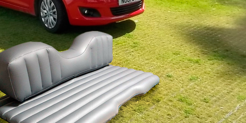 Opar Car Travel Inflatable Mattress in the use