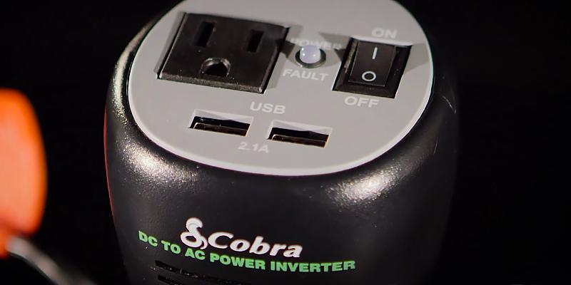 Review of Cobra CPI290CH Cup-Holder Design Power Inverter