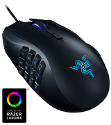 Razer RZ01-01610100-R3 Ergonomic RGB MMO Gaming Mouse