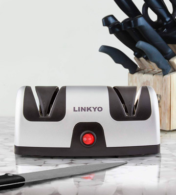 Review of LINKYO LY-KE2SSA1 Electric Knife Sharpener