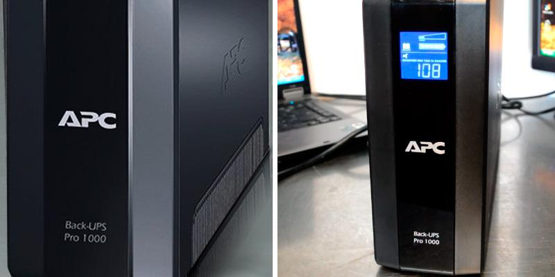 APC Back-UPS Pro 8-outlet 1000VA UPS in the use