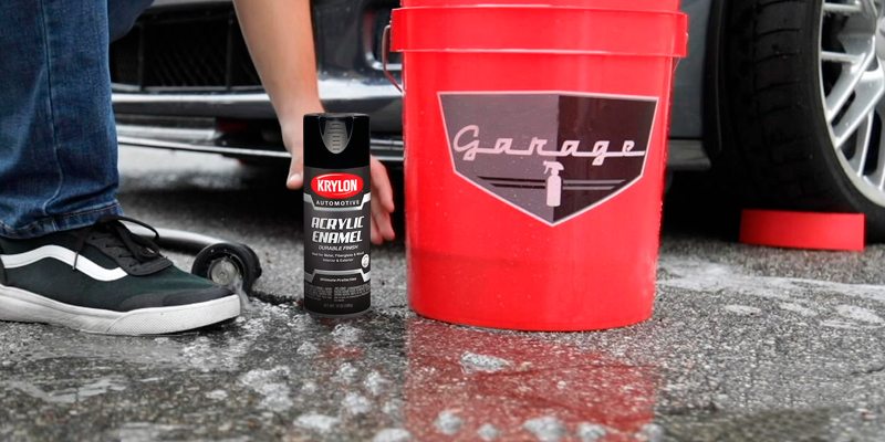 Review of Krylon Acrylic Automotive Enamel, Gloss, Black, 12 oz. (KA8601007)