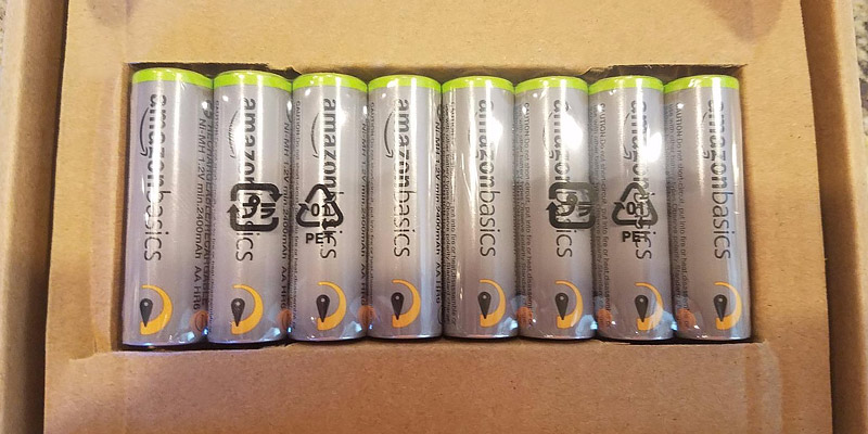 Review of AmazonBasics Rechargeable AAA Batteries