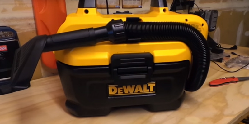 Review of DEWALT DCV580H Cordless Wet-Dry Vacuum