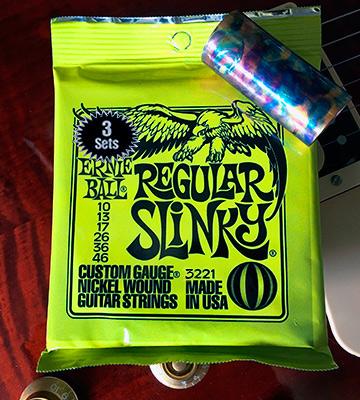 Review of Ernie Ball Regular Slinky Nickel Wound Sets