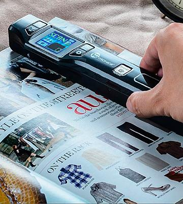 Review of TaoTronics Handheld Mobile Portable Document scanner