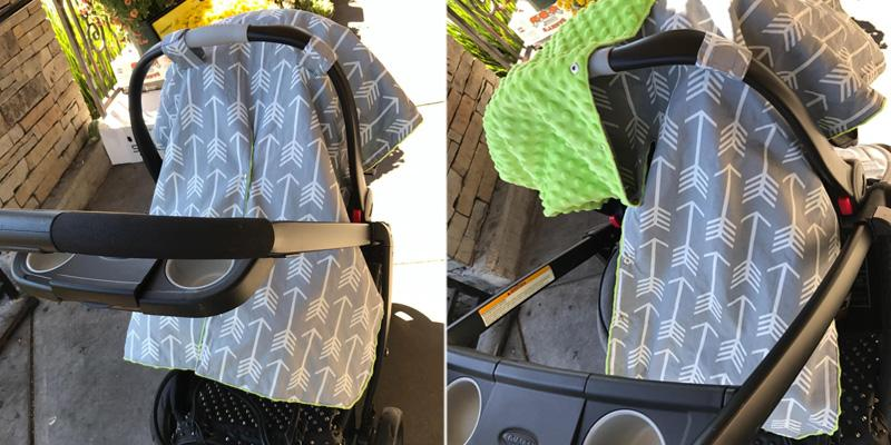 Review of Kids N' Such Weather Protection Canopy Cover and Nursing Cover