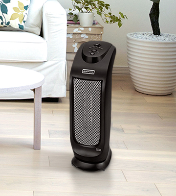 Review of Bionaire BCH7302-NUM Oscillating Ceramic Tower Heater with LED Controls