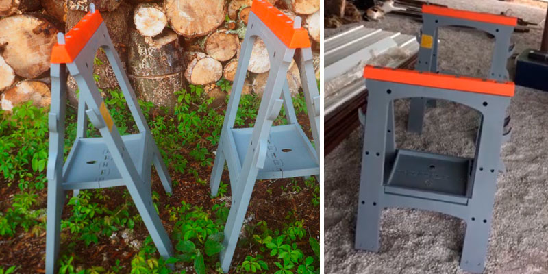 Review of AmazonBasics AMZ1719 Folding Sawhorse