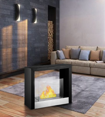 Review of Ignis Products FSF-025 Tectum S Freestanding Ventless Ethanol Fireplace