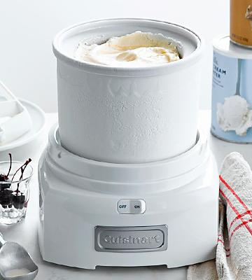 Review of Cuisinart ICE-21 1.5 Quart White