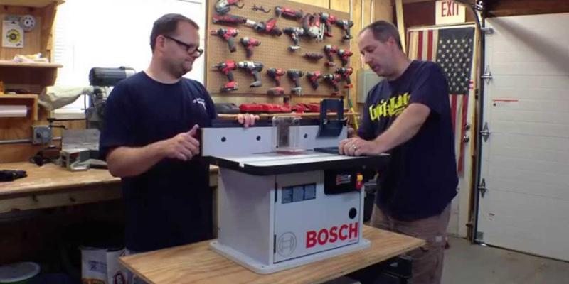 Review of Bosch RA1171 Router Table