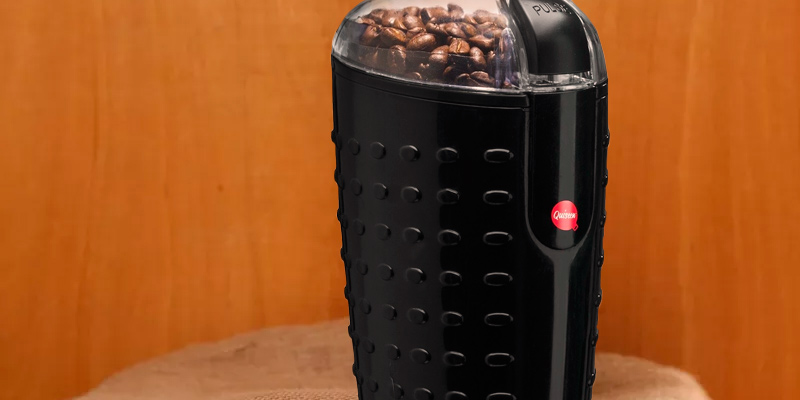 Detailed review of Quiseen Q-CG001 One-Touch Electric Coffee Grinder for Coffee Beans, Spices, Nuts and Grains