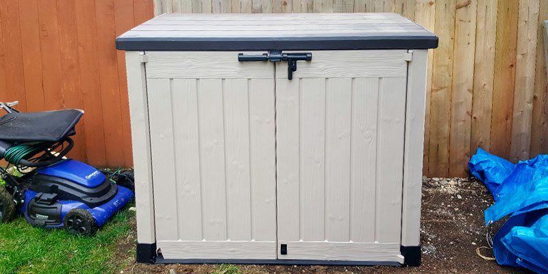 Review of Keter Outdoor Resin Horizontal Storage Shed