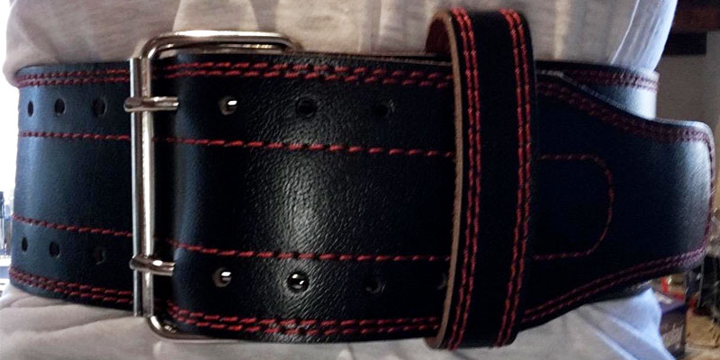 Detailed review of Dark Iron Fitness Leather Pro Weight lifting Belt