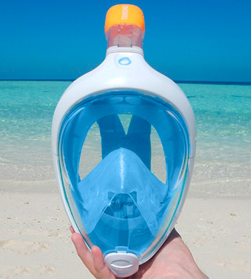 Review of SUBEA Tribord Easybreath Full Face Snorkeling Mask