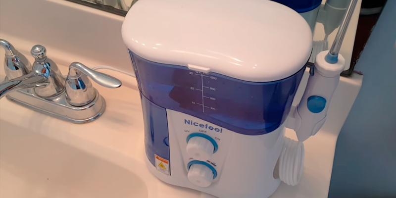 Review of Nicefeel Water Flosser with UV Sterilize
