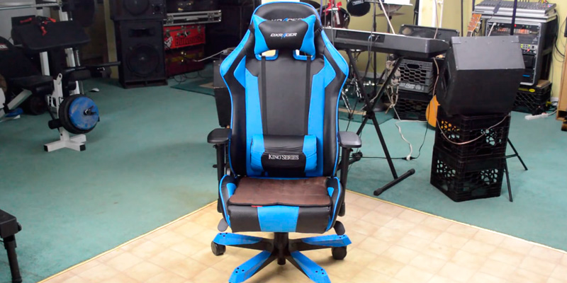 Review of DXRacer King Series DOH/KS06/N Big and Tall Gaming Chair for 275 lbs