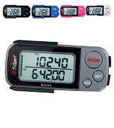 3DTriSport Walking 3D Pedometer with Clip and Strap