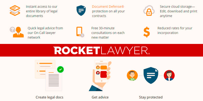 Review of Rocket Lawyer Name Change Notification Letter