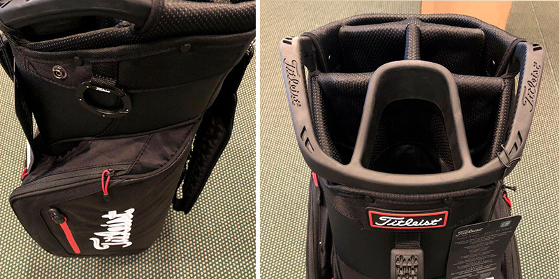 Titleist Club 7 Golf Cart Bag in the use