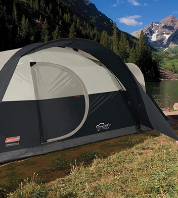 Review of Coleman 2000018291 Montana camping Tent
