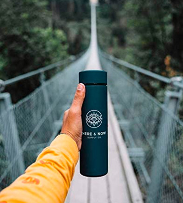 Review of Here & Now Supply Co. 16 oz Multi-Purpose Travel Mug and Tumbler | Tea Infuser Water Bottle