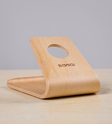 Review of SAMDI Wooden Smartphone Stand