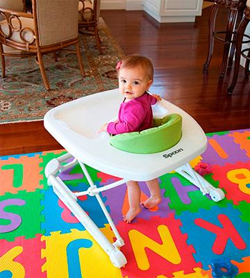Review of Joovy Spoon Baby Walker