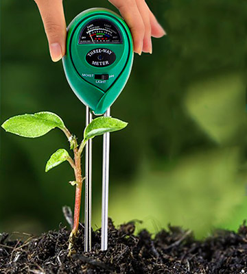 Review of yoyomax Soil Test Kit pH Moisture Meter Plant Water Light Tester Testing Kits Garden Plants