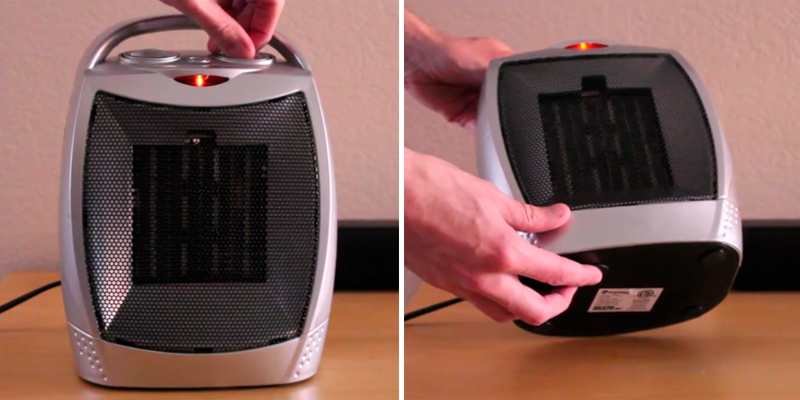 Review of Brightown Portable Ceramic Heater 1500W/750W