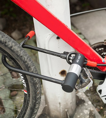 Review of Via Velo 15mm Shackle Bike U Lock with Strong Cable