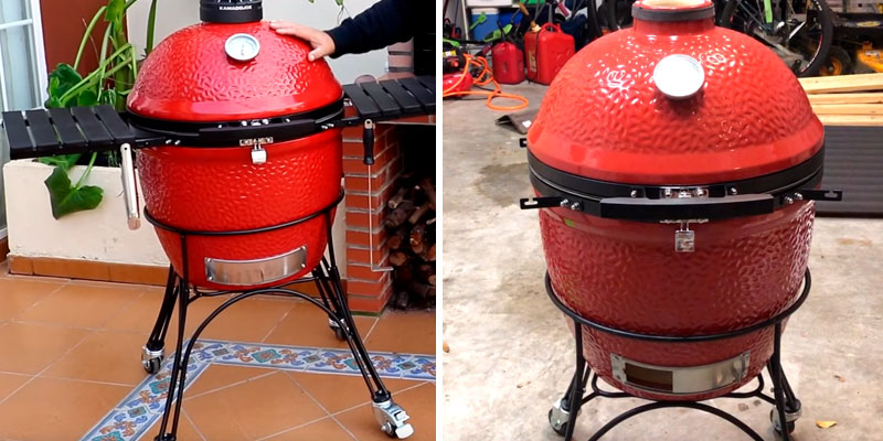 Review of KamadoJoe KJ23RHC Classic II 18″ Ceramic Kamado Charcoal Grill