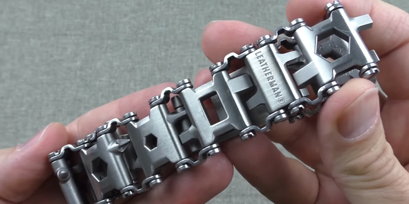 Leatherman Tread Bracelet, The Travel Friendly Wearable Multitool in the use